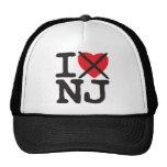 Odio NJ - New Jersey Gorras De Camionero