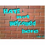 ODIO - no dado la bienvenida aquí adorne [sombread Esculturas Fotograficas