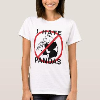 Odio pandas playera