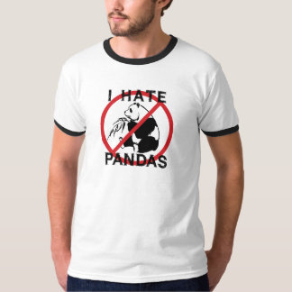 Odio pandas playeras
