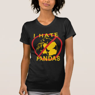 Odio pandas poleras