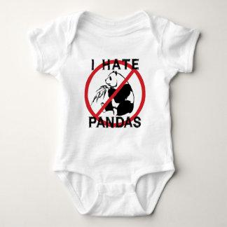 Odio pandas remeras