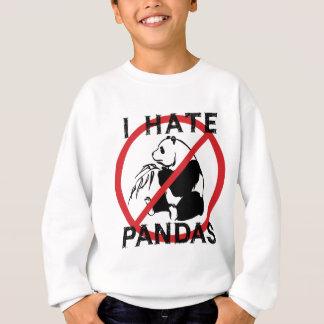 Odio pandas sudadera