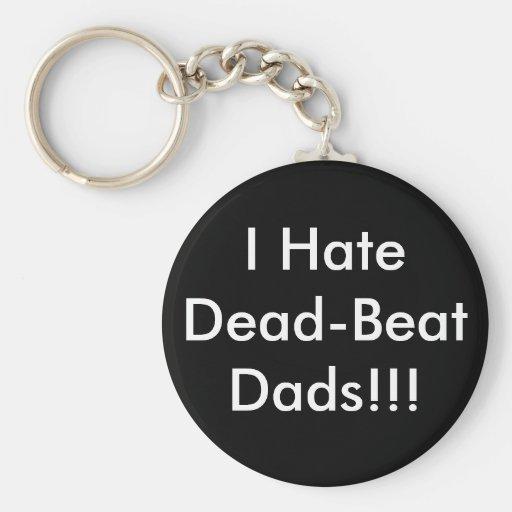 ¡Odio papás aperiódicos!!! Llavero Redondo Tipo Pin