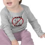 Odio perros camisetas