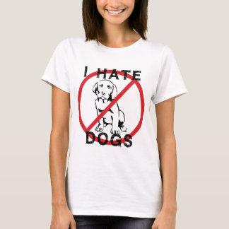 Odio perros playera