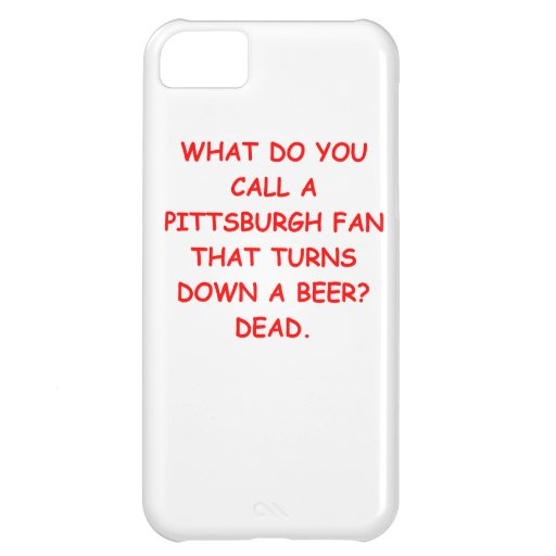 odio Pittsburgh Carcasa iPhone 5C