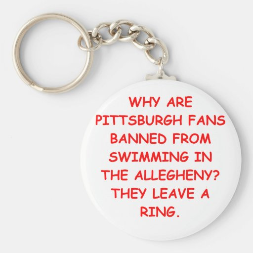 odio Pittsburgh Llavero Personalizado