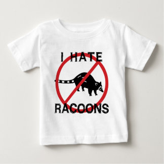 Odio Racoons Playera De Bebé