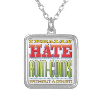 Odio ROM-Coms Colgante Cuadrado