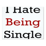 Odio ser solo invitacion personalizada