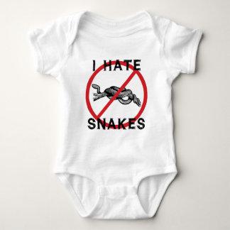 Odio serpientes body para bebé