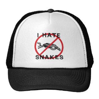 Odio serpientes gorro de camionero