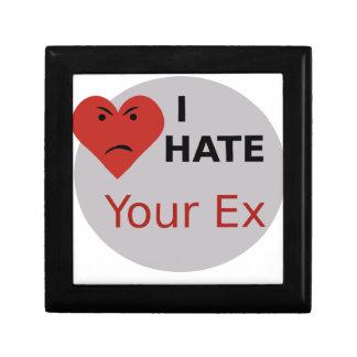 Odio su ex caja de regalo