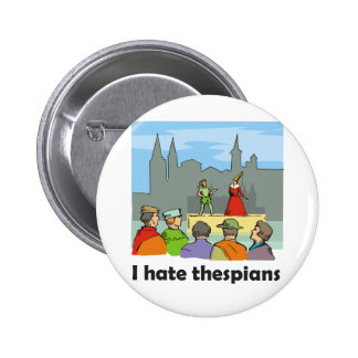 Odio thespians pins