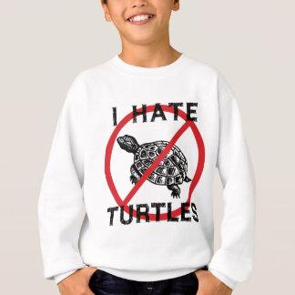 Odio tortugas sudadera