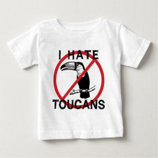 Odio Toucans Playera De Bebé