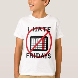 Odio viernes playera