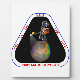 Odisea 2001 de Marte Placas De Plastico