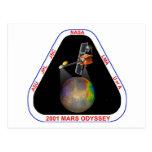Odisea 2001 de Marte Postales