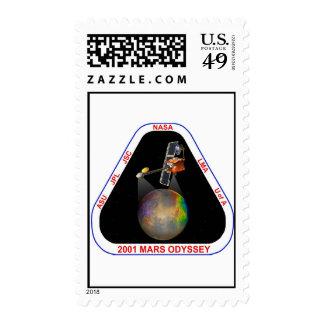 Odisea 2001 de Marte Sello