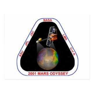Odisea 2001 de Marte Tarjeta Postal