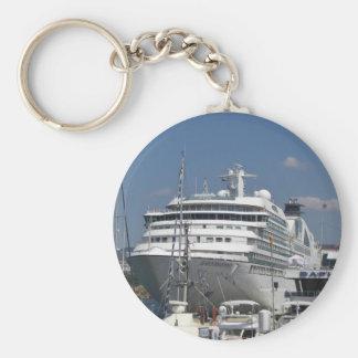 Odisea de Seabourn del barco de cruceros Llavero Personalizado