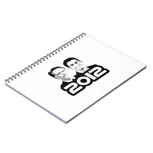 ODISEA DEL ESPACIO DE ROMNEY RYAN 2012 LIBROS DE APUNTES CON ESPIRAL