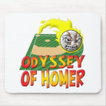 Odisea del home run alfombrillas de raton