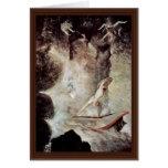Odiseo delante de Scylla y Charybdis (véase el Als Tarjetas