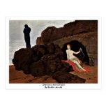 Odiseo y Calypso de Böcklin Arnold Tarjetas Postales