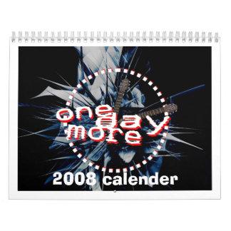 ODM BACK, 2008 calender Calendar