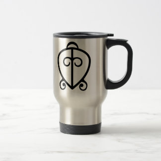 Odo Nnyew Fie Kwan   Power of Love Symbol Travel Mug