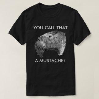 Odobenus rosmarus - Mustache T-Shirt