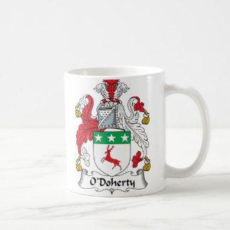 O'Doherty Family Crest Classic White Coffee Mug