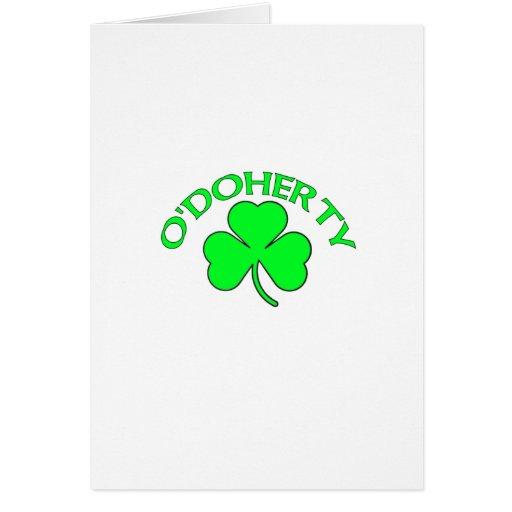 O'Doherty Tarjetas