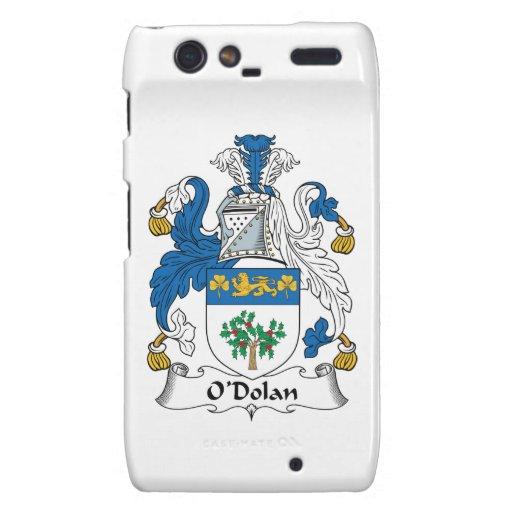 O'Dolan Family Crest Motorola Droid RAZR Covers