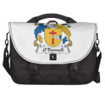 O'Donnell Family Crest Laptop Computer Bag