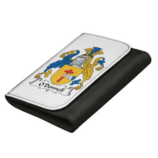 O'Donnell Family Crest Leather Wallets