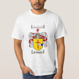 O'Donnell Family Crest - O'Donnell Coat of Arms T Shirt