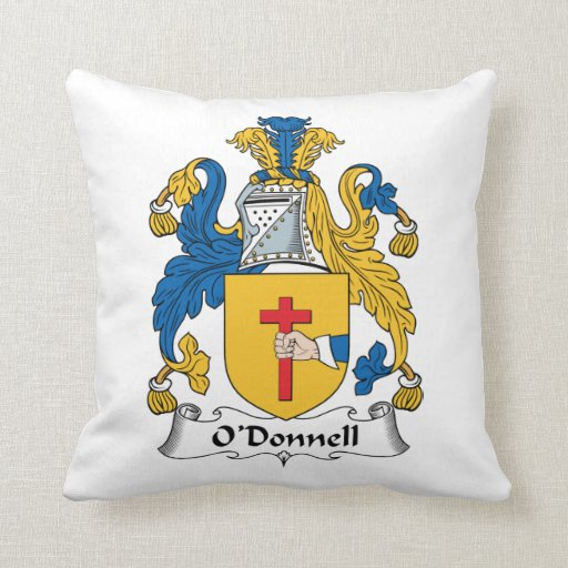 O'Donnell Family Crest Pillows