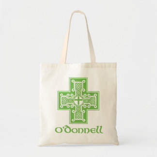 O'Donnell Irish Knot Cross Tote Bag