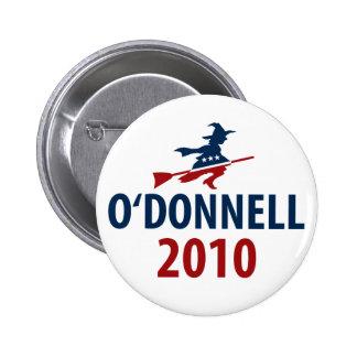 O'Donnell para el senado Pins