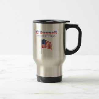 O'Donnell para la bandera americana patriótica del Taza