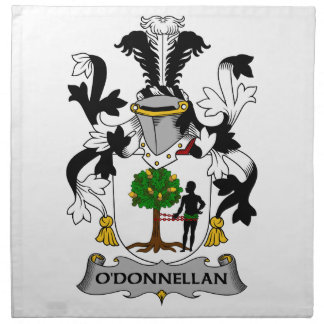 O'Donnellan Family Crest Napkin