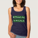 O'Donnell's Way Street Sign Shirt
