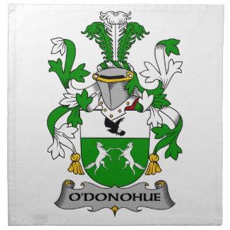 O'Donohue Family Crest Napkin