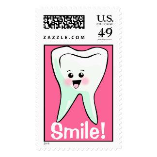 Odontología de los dientes de la sonrisa sellos