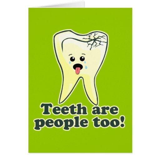 Odontología divertida tarjetón
