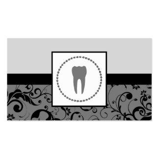 odontología profesional: diente del damasco tarjetas de visita